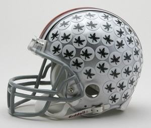Riddell NCAA Ohio St Buckeyes Replica Vsr4 Mini Football Helmet