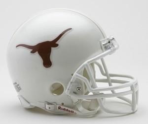 Texas Longhorns Riddell Mini Vsr4 Helmet