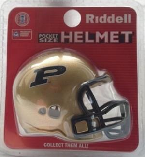 Purdue Boilermakers Revolution Pocket Size Helmet