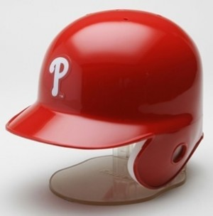 Philadelphia Phillies Replica Mini Batting Helmet