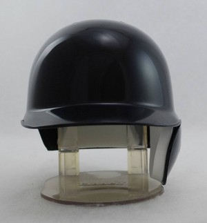 Black Blank Customizable Replica Mini Batting Helmet Shell