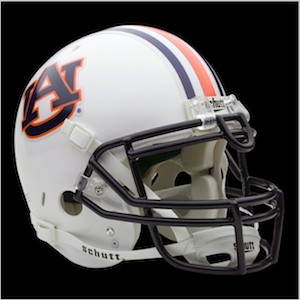 Auburn Tigers Authentic Full Size Helmet