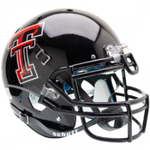 Schutt NCAA Texas Tech Red Raiders XP Authentic Full Size Helmet