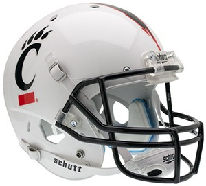 Cincinnati Bearcats White XP Replica Full Size Helmet