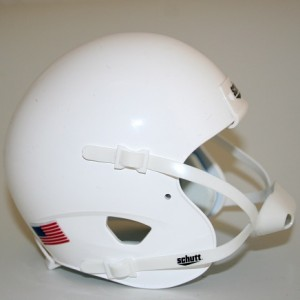Schutt White Blank Customizable XP Authentic Mini Football Helmet Shell