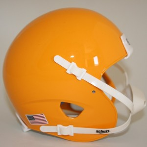 Schutt Green Bay Packers Gold Blank Customizable XP Authentic Mini Football Helmet Shell
