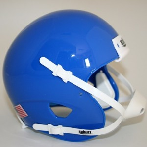 Schutt Royal Blue Blank Customizable XP Authentic Mini Football Helmet Shell