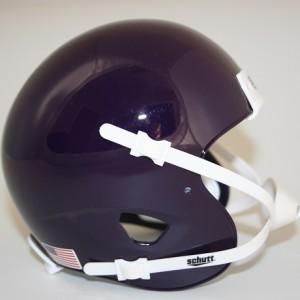 Schutt Purple Blank Customizable XP Authentic Mini Football Helmet Shell
