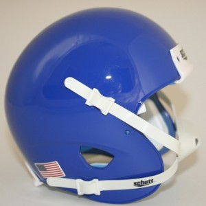 Schutt Kansas Blue Blank Customizable XP Authentic Mini Football Helmet Shell