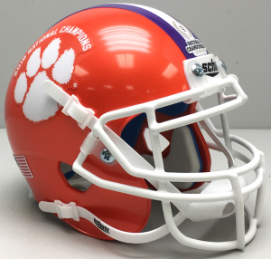 Schutt NCAA Clemson Tigers 2016 National Champions XP Authentic Mini Helmet