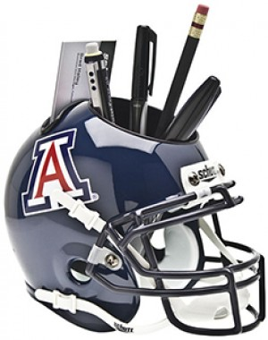 Arizona Wildcats Authentic Mini Helmet Desk Caddy