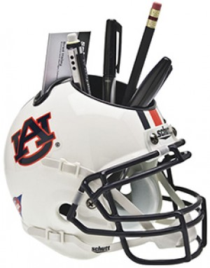 Auburn Tigers Authentic Mini Helmet Desk Caddy