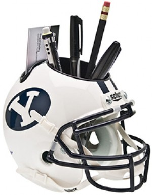 Brigham Young Cougars Authentic Mini Helmet Desk Caddy