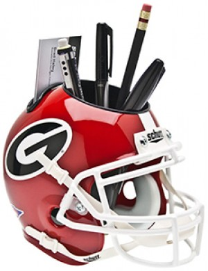 Georgia Bulldogs Authentic Mini Helmet Desk Caddy