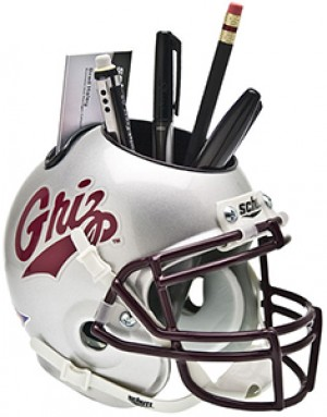 Montana Grizzlies Authentic Mini Helmet Desk Caddy