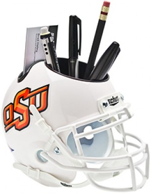 Oklahoma St Cowboys Authentic Mini Helmet Desk Caddy