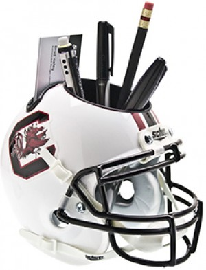 South Carolina Gamecocks Authentic Mini Helmet Desk Caddy
