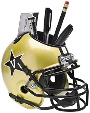 Vanderbilt Commodores Authentic Mini Helmet Desk Caddy