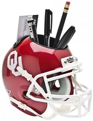 Oklahoma Sooners Authentic Mini Helmet Desk Caddy
