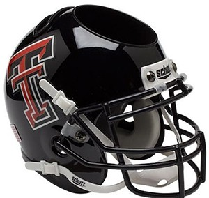 Texas Tech Red Raiders Authentic Mini Helmet Desk Caddy