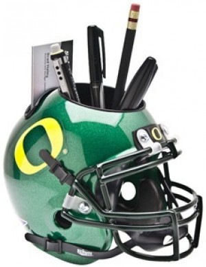 Oregon Ducks Authentic Mini Helmet Desk Caddy