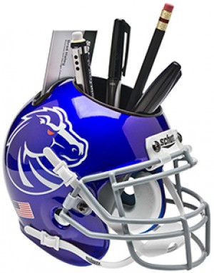 Boise St Broncos Authentic Mini Helmet Desk Caddy