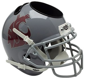 Washington St Cougars Authentic Mini Helmet Desk Caddy