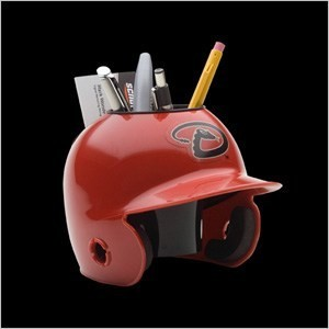 Arizona Diamondbacks Authentic Mini Batting Helmet Desk Caddy