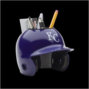 Kansas City Royals Authentic Mini Batting Helmet Desk Caddy