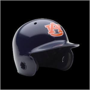 Auburn Tigers Authentic Mini Batting Helmet