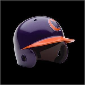 Clemson Tigers Authentic Mini Batting Helmet
