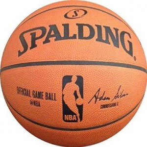 Spalding NBA Adam Silver Official Game Authentic Full Size Basketball