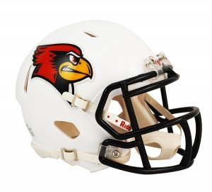 Illinois St Redbirds Revolution Speed Mini Helmet NEW 2013