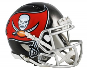 Tampa Bay Buccaneers Revolution Speed Mini Helmet NEW 2014
