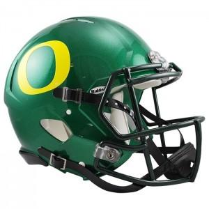 Oregon Ducks Authentic Revolution Speed Full Size Helmet NEW 2014