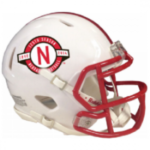 Riddell NCAA Nebraska Cornhuskers 125th Anniversary Speed Mini Football Helmet