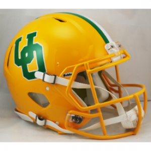 Riddell NCAA Oregon Ducks Yellow Throwback Revolution Speed Authentic Full Size Helmet