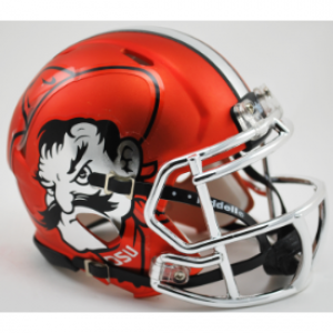 Riddell NCAA Oklahoma St Cowboys Pistol Pete Orange Revolution Speed Mini Helmet