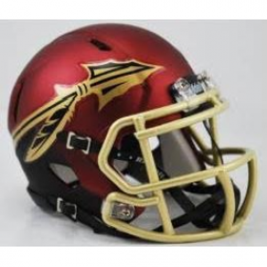Riddell NCAA Florida St Seminoles 2015 Garnet and Black Speed Mini Football Helmet