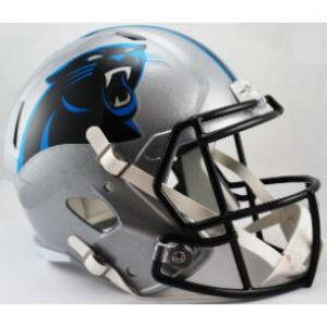 Riddell NFL Carolina Panthers Revolution Speed Replica Full Size Helmet