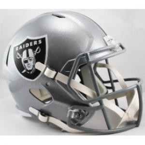 Las Vegas Raiders Riddell Full Size Replica Speed Helmet