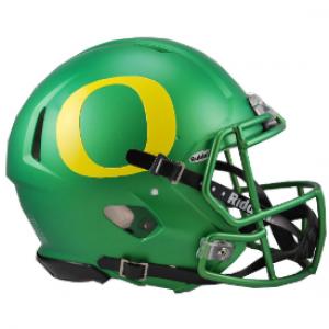 Riddell NCAA Oregon Ducks Apple Green Revolution Speed Authentic Full Size Helmet