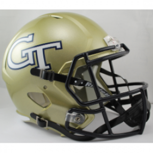 Riddell NCAA Georgia Tech Yellow Jackets Revolution Speed Replica Full Size Helmet