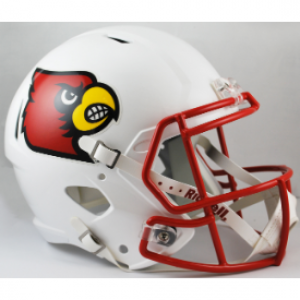 Riddell NCAA Louisville Cardinals Revolution Speed Replica Full Size Helmet