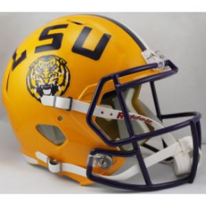 Riddell NCAA LSU Tigers Revolution Speed Replica Full Size Helmet