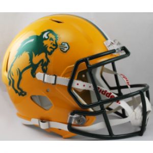 Riddell NCAA North Dakota St Bison Revolution Speed Replica Full Size Helmet