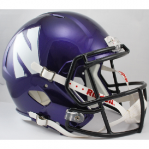 Riddell NCAA Northwestern Wildcats Revolution Speed Replica Full Size Helmet