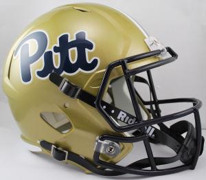 Riddell NCAA Pittsburgh Panthers Pitt Script Replica Speed Full Size Football Helmet