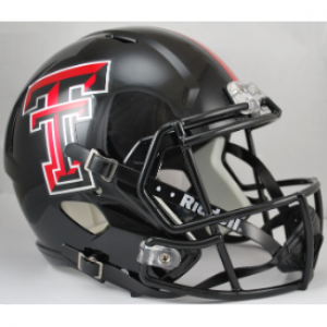 Riddell NCAA Texas Tech Red Raiders Revolution Speed Replica Full Size Helmet