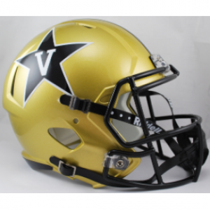 Riddell NCAA Vanderbilt Commodores Revolution Speed Replica Full Size Helmet